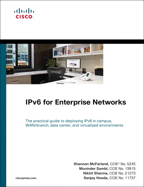 IPv6 for Enterprise Networks, CourseSmart eTextbook