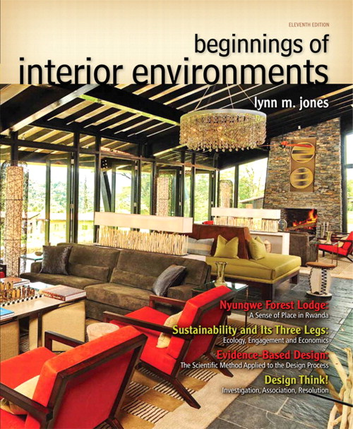 Beginnings of Interior Environments, CourseSmart eTextbook, 11th Edition