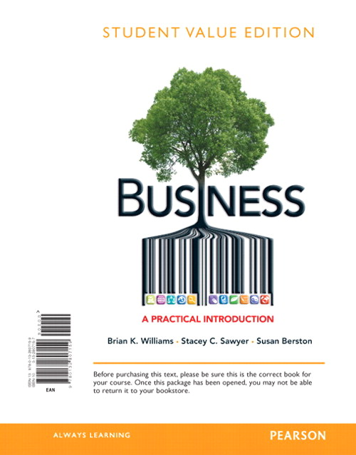 Business: A Practical Introduction, Student Value Edition