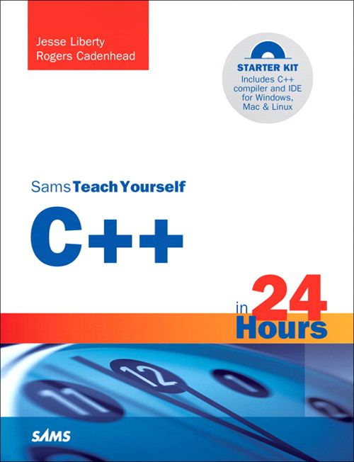 Sams Teach Yourself C++ in 24 Hours, CourseSmart eTextbook, 5th Edition