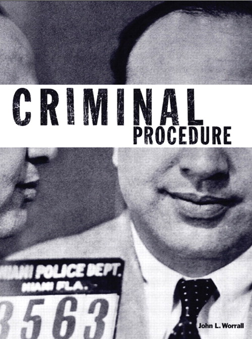 Criminal Procedure: A Brief Introduction, CourseSmart eTextbook