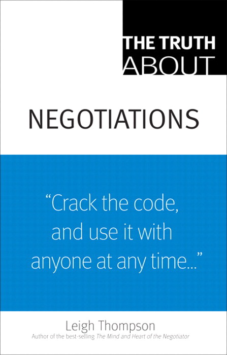 Truth About Negotiations, The, CourseSmart eTextbook