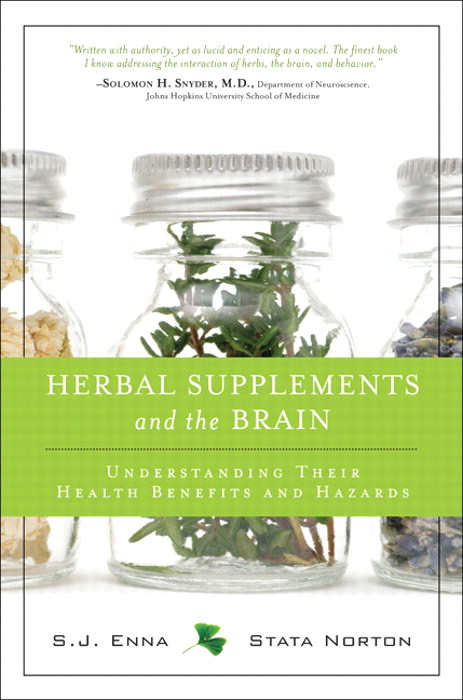Herbal Supplements and the Brain: Understanding Their Health Benefits and Hazards, CourseSmart eTextbook