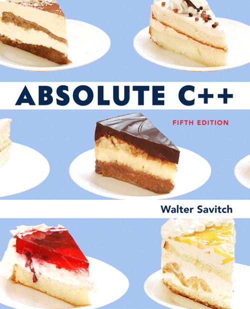 Absolute C++, 5th Edition