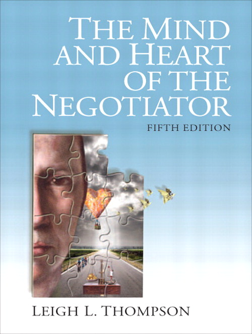 Mind and Heart of the Negotiator, The, CourseSmart eTextbook, 5th Edition