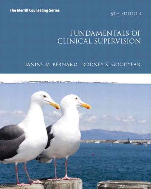 Fundamentals of Clinical Supervision, CourseSmart eTextbook, 5th Edition