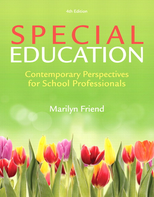 Special Education: Contemporary Perspectives for School Professionals, CourseSmart eTextbook, 4th Edition