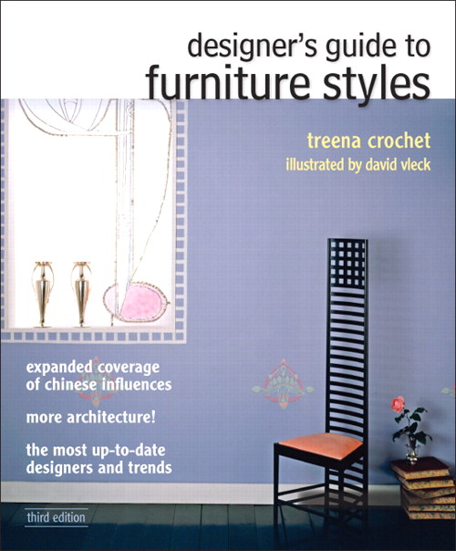 Designer's Guide to Furniture Styles, CourseSmart eTextbook, 3rd Edition
