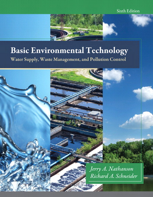 Basic Environmental Technology: Water Supply, Waste Management and Pollution Control, CourseSmart eTextbook, 6th Edition