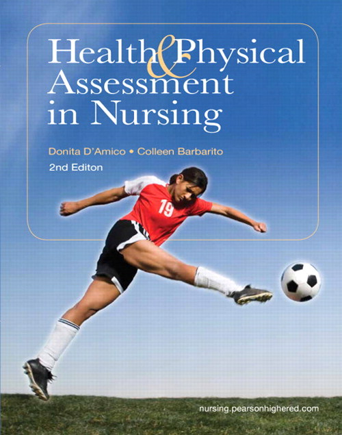 Pocket Guide for Health & Physical Assessment in Nursing, CourseSmart eTextbook, 2nd Edition