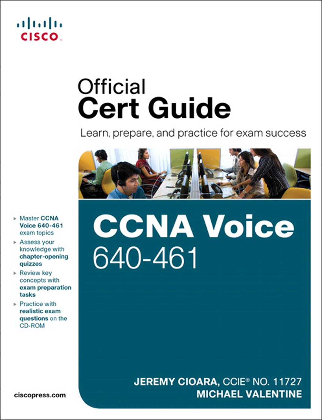 CCNA Voice 640-461 Official Cert Guide, CourseSmart eTextbook
