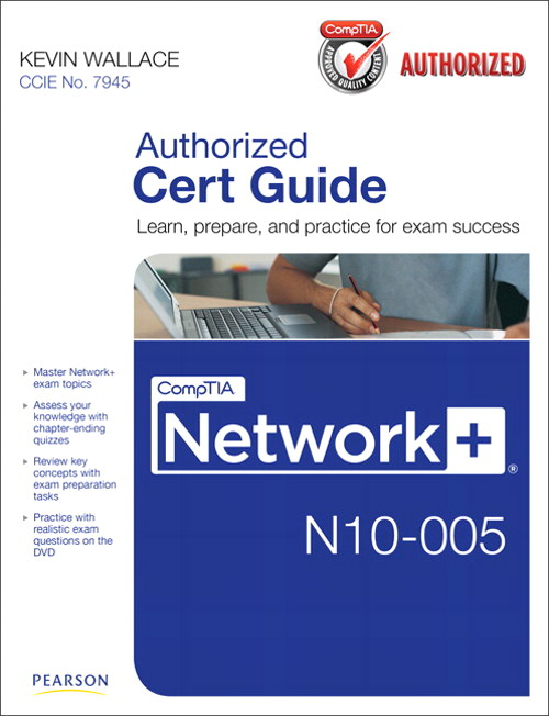 CompTIA Network+ N10-005 Cert Guide, CourseSmart eTextbook