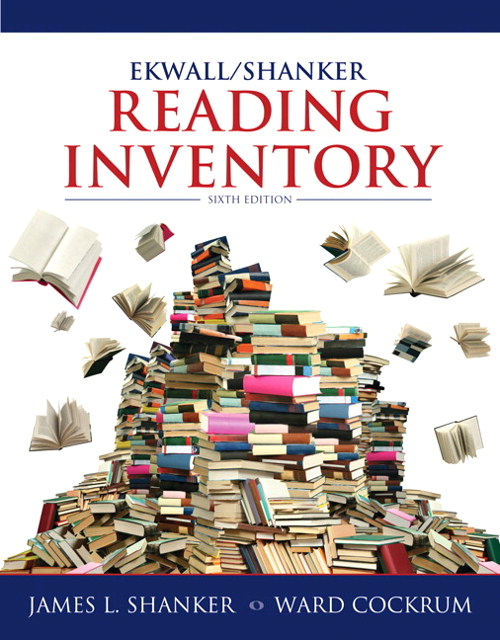 Ekwall/Shanker Reading Inventory, CourseSmart eTextbook, 6th Edition