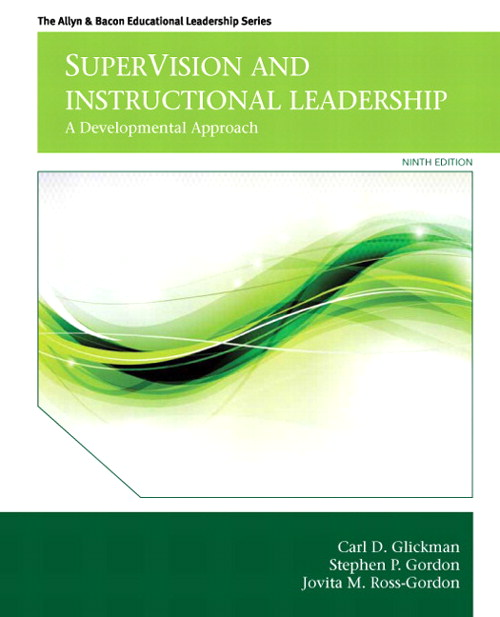 SuperVision and Instructional Leadership: A Developmental Approach, CourseSmart eTextbook, 9th Edition