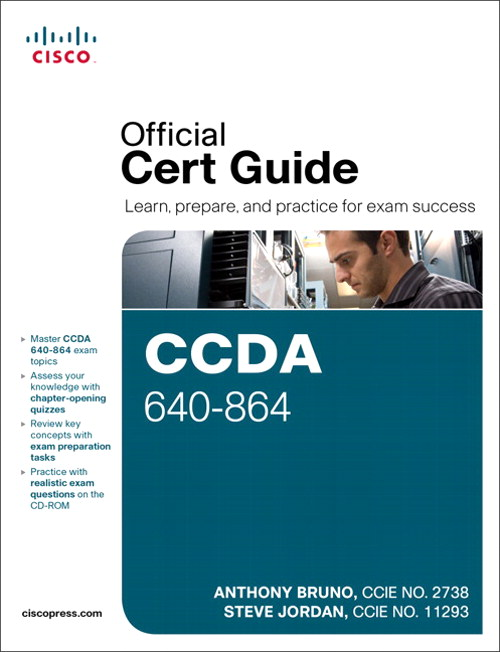 CCDA 640-864 Official Cert Guide, CourseSmart eTextBook, 4th Edition