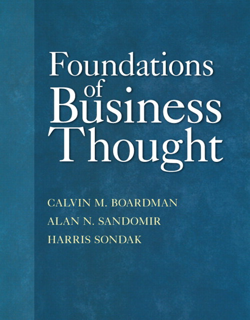 Foundations of Business Thought, CourseSmart eTextbook