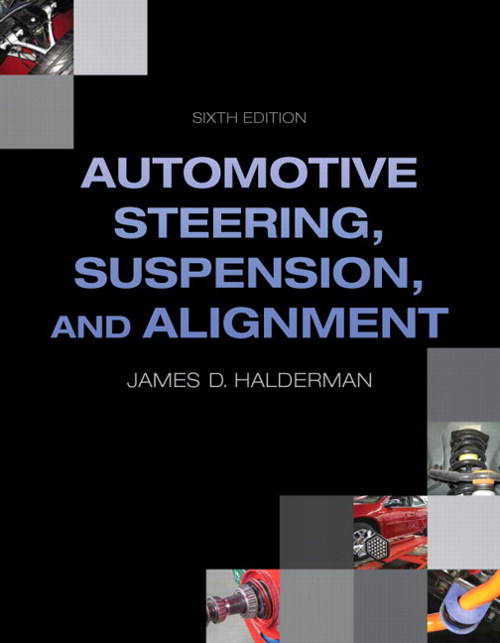 Auto Steering, Suspension, Alignment, CourseSmart eTextbook, 6th Edition