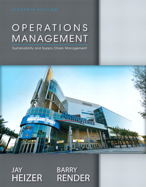 Operations Management, CourseSmart eTextbook, 11th Edition
