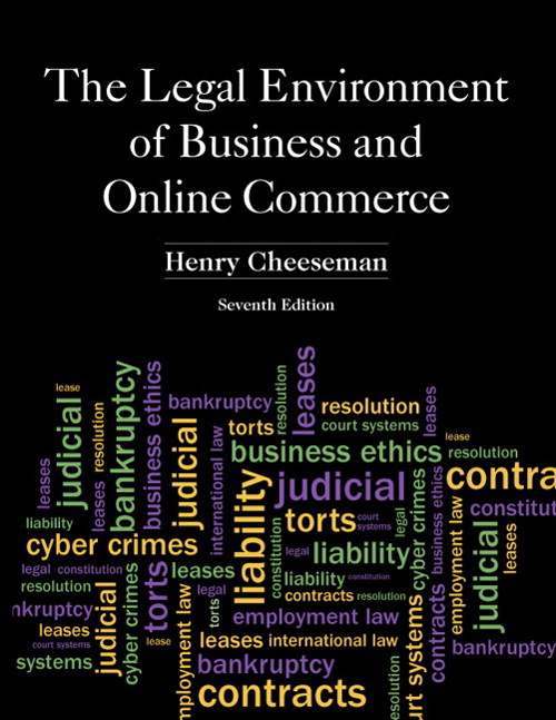 Legal Environment of Business and Online Commerce, The, CourseSmart eTextbook, 7th Edition