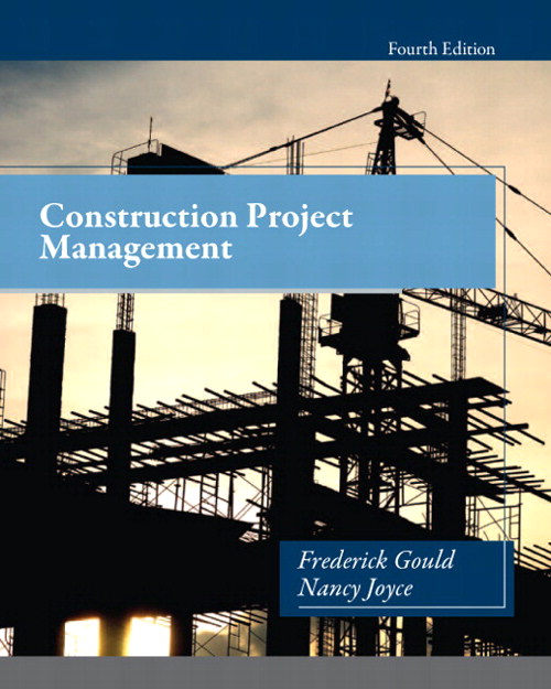 Construction Project Management, CourseSmart eTextbook, 4th Edition