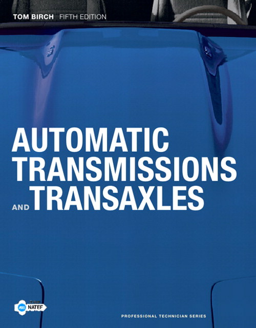 Automatic Transmissions and Transaxles, CourseSmart eTextbook, 5th Edition