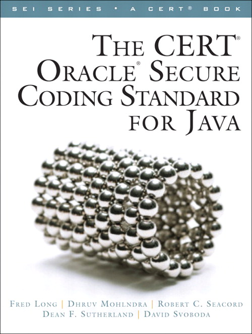 CERT Oracle Secure Coding Standard for Java, Safari Version, The