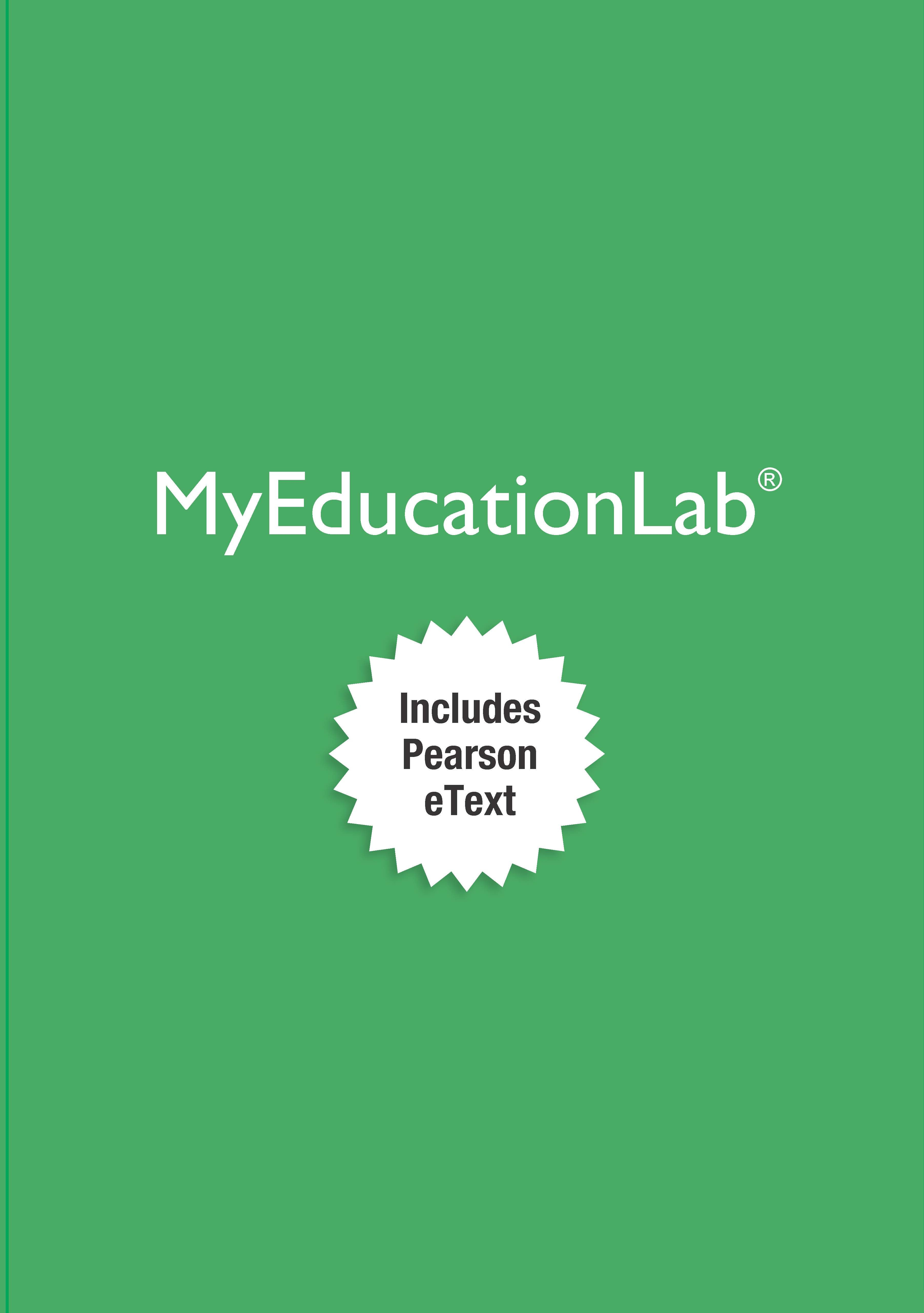 NEW MyEducationLab with Pearson eText -- Instant Access -- for Exceptional Children: An Introduction to Special Education, 10th Edition