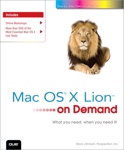 Mac OS X Lion on Demand, CourseSmart eTextbook