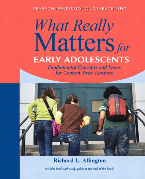 What Really Matters for Middle School Readers: From Research to Practice, CourseSmart eTextbook
