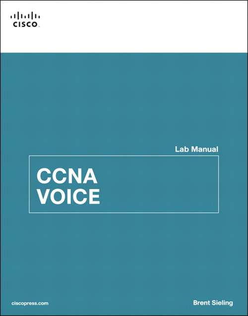 CCNA Voice Lab Manual, CourseSmart eTextbook