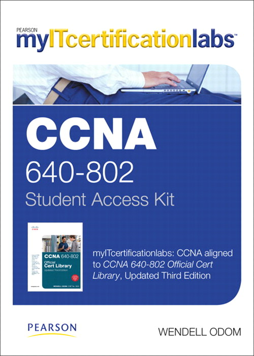 CCNA (640-802) MyITCertificationlab -- Instant Access