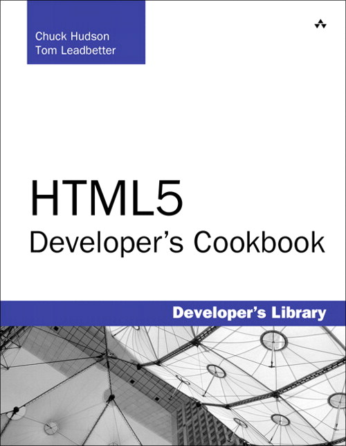 HTML5 Developer's Cookbook, CourseSmart eTextbook