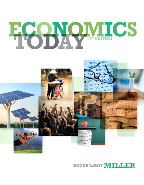 Economics Today, CourseSmart eTextbook, 17th Edition