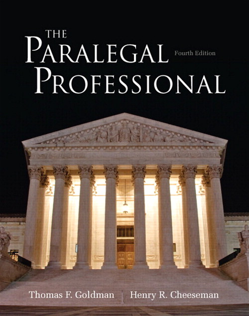 Paralegal Professional, The, CourseSmart eTextbook, 4th Edition