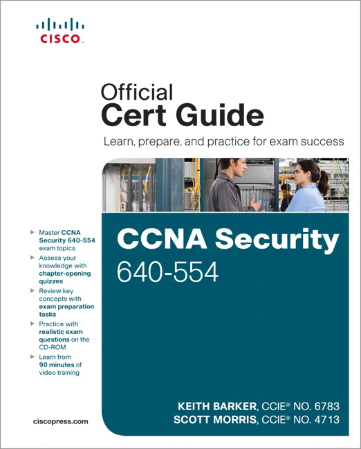 CCNA Security 640-554 Official Cert Guide, CourseSmart eTextbook