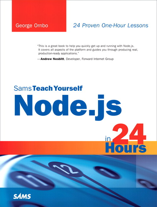 Sams Teach Yourself Node.js in 24 Hours