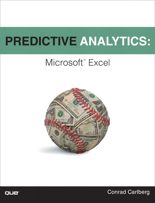 Predictive Analytics: Microsoft Excel, CourseSmart eTextbook