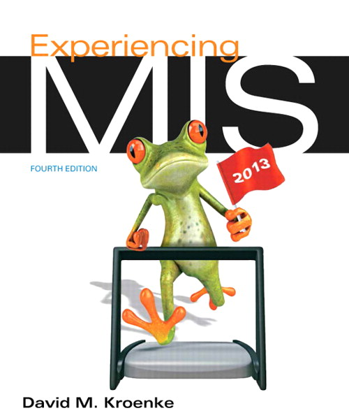 Experiencing MIS, CourseSmart eTextbook, 4th Edition
