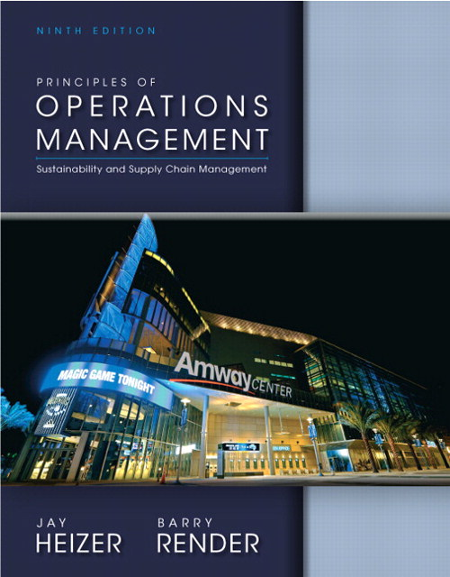 Principles of Operations Management, CourseSmart eTextbook, 9th Edition