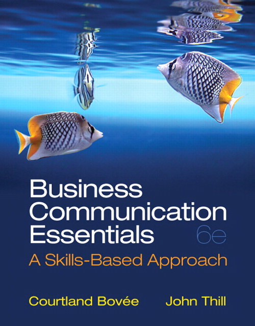 Business Communication Essentials, CourseSmart eTextbook, 6th Edition