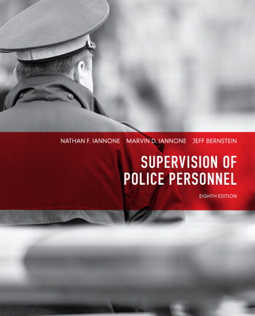 Supervision of Police Personnel, CourseSmart eTextbook, 8th Edition