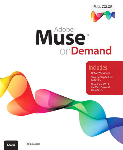 Adobe Muse on Demand, CourseSmart eTextbook