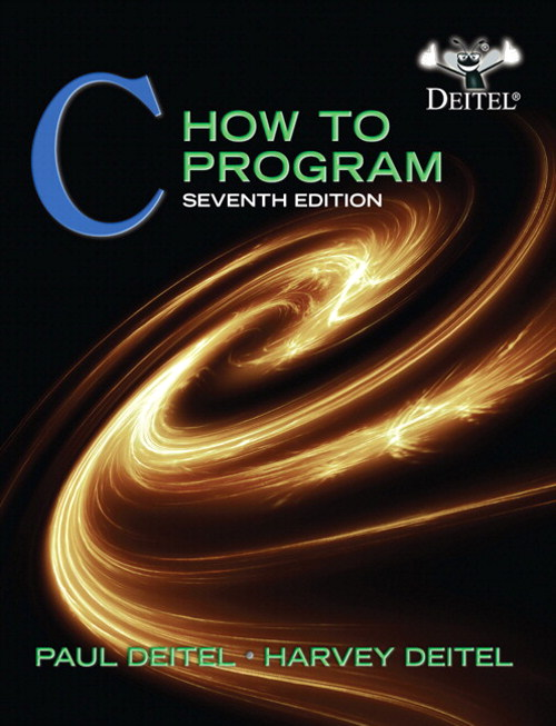 C How to Program, CourseSmart eTextbook, 7th Edition