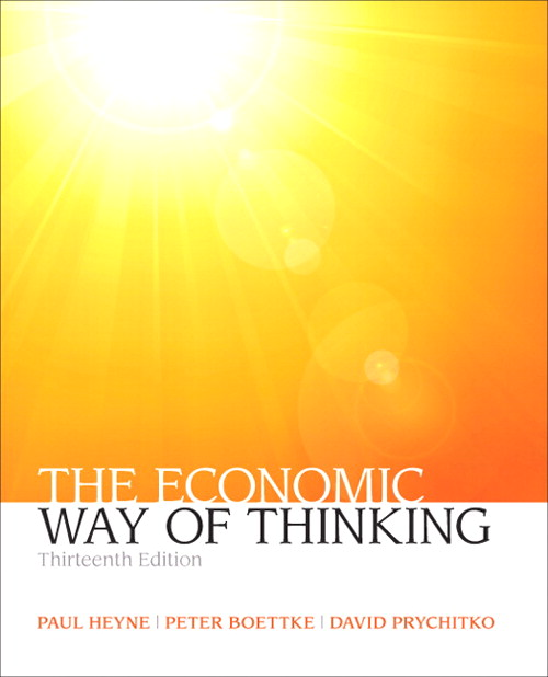 Economic Way of Thinking, The, Coursesmart eTextbook, 13th Edition