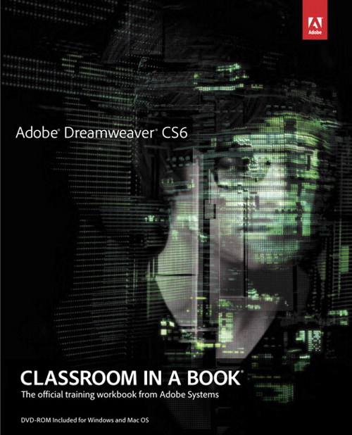 Adobe Dreamweaver CS6 Classroom in a Book, CourseSmart eTextbook