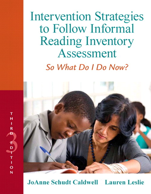 Intervention Strategies to Follow Informal Reading Inventory Assessment: So What Do I Do Now?, CourseSmart eTextbook, 3rd Edition