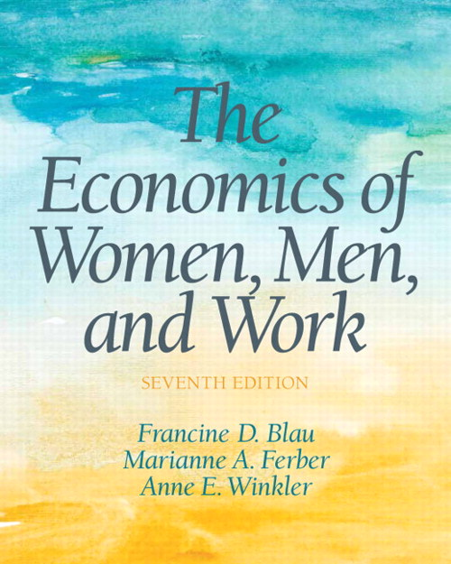 Economics of Women, Men and Work, The, CourseSmart eTextbook, 7th Edition