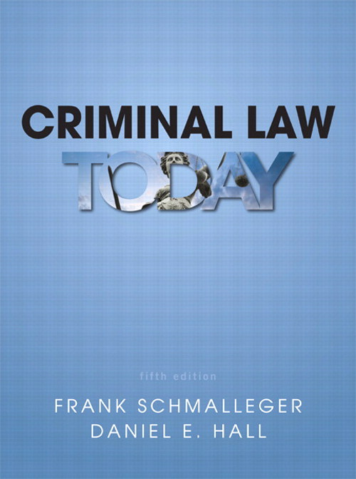 Criminal Law Today, CourseSmart eTextbook, 5th Edition