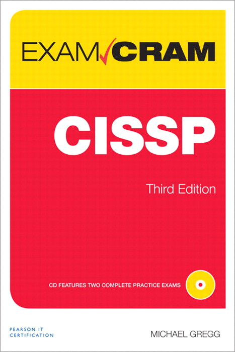 CISSP Exam Cram, CourseSmart eTextbook, 3rd Edition