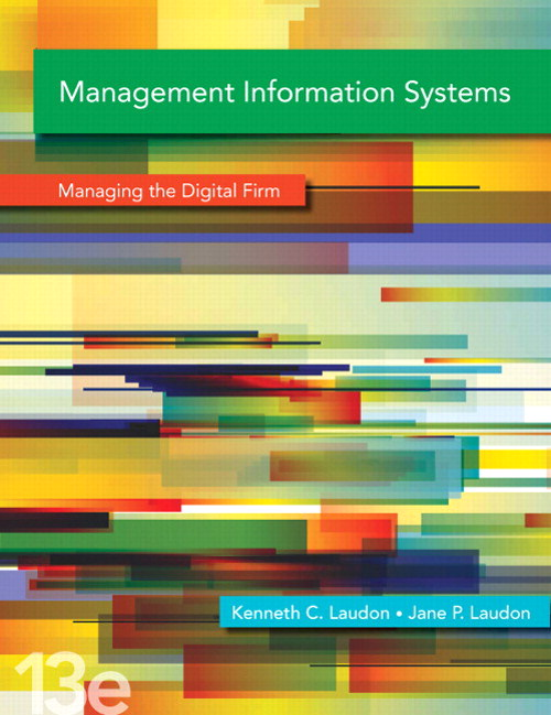 Management Information Systems, CourseSmart eTextbook, 13th Edition